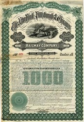 New York, Pittsburgh and Chicago Railway Company - New York 1881