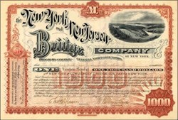 New York and New Jersey Bridge Company 1892
