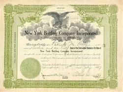 New York Bottling Company 1927