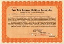 New York Business Buildings Corporation