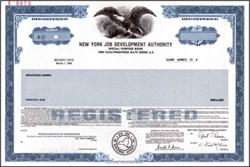 New York Job Development Authority - Municipal Bond