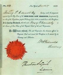 New York Law Institute 1850