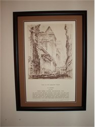 New York Stock Exchange Membership Certificate - Framed - New York