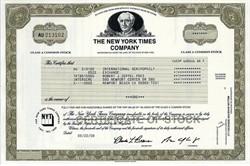 New York Times Company - New York