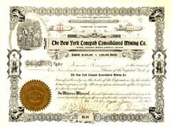 New York Tonopah Consolidated Mining - Tonopah Mining Districe, Nevada 1905