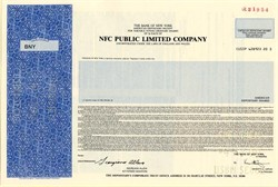 NFC Public Limited Company - England 1990