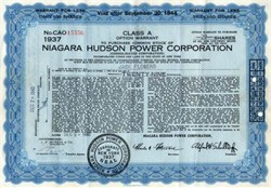 Niagara Hudson Power Corporation - New York 1940