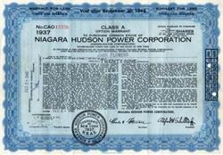 Niagara Hudson Power Corporation - New York 1940