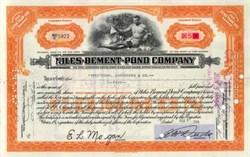 Niles - Bement - Pond Company ( Became Colt Industries )