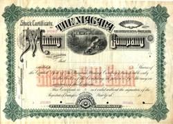 Niagara Mining Company - New York 18__