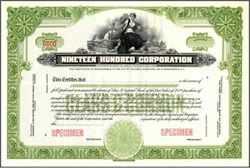 Nineteen Hundred Corporation
