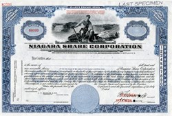 Niagara Shares Corporation - Maryland 1940