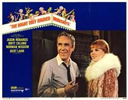 Night They Raided Minsky's Lobby Card starring Jason Robards and Britt Ekland - 1968