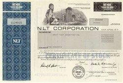 NLT Corporation (Now American General Corporation )
