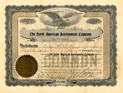 North American Development Company - Territory of Arizona 1906