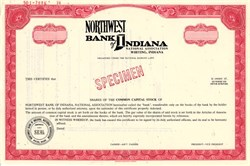Northwest Bank of Indiana - Whiting, Indiana