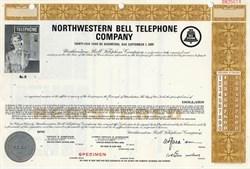 Northwestern Bell Telephone Company - Specimen