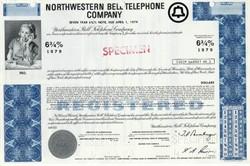 Northwestern Bell Telephone Company - 1970's - Specimen