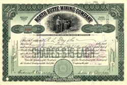 North Butte Mining Company - Minnesota 1907