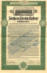 Northern Electric Railway Company - California 1907 ( Chico to Sacramento Line )