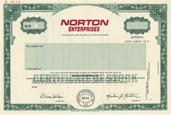 Norton Enterprises - Delaware 1987