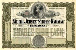 North Jersey Street Railway - New Jersey 1900