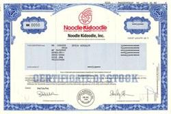 Noodle Kidoodle, Inc. - Delaware 1996