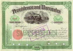 Providence and Worcester Railroad 1911