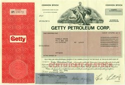 Getty Petroleum Corporation