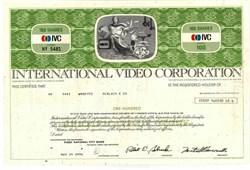 International Video Corporation 1974 - Classic TV Cameraman Vignette