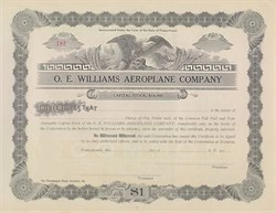 O.E. Williams Aeroplane Company 1914