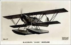 Early Bi Sea Plane Photo Postcard 1930's