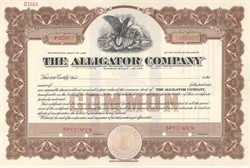 Alligator Company - Main Plant was located in St. Louis, Missouri