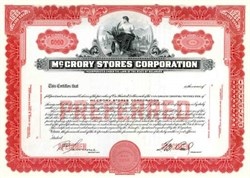 McCrory Stores Corporation