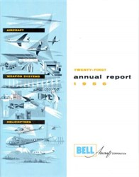 Bell Aircraft Corporation Annual Report 1956