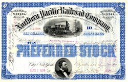 Northern Pacific Railroad Company - 1890's
