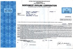 Northwest Pipeline Corporation - Delaware 1974
