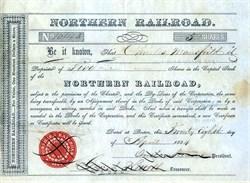 Northern Railroad - Boston, Massachusetts - 1854