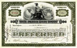 North American Edison Company ( Early Power Grid Utility )