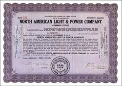 North American Light and Power Company 1929 - 1935