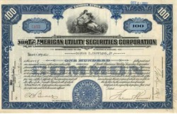 North American Utility Securities Corporation