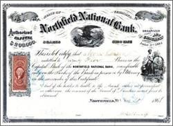 Northfield National Bank 1866