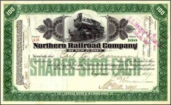 Northern Railroad Company 1899 ( Early Erie Railroad )