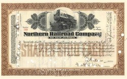 Northern Railroad Company of New Jersey 1920's