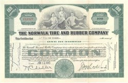 Norwalk Tire and Rubber Company 1943