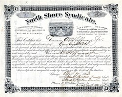 North Shore Syndicate (Residential development of Lincoln Park ) - Chicago, Illinois 1893