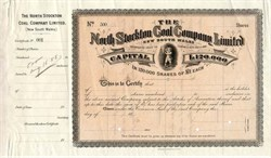 North Stockton Coal Company Limited - Great Britain,  New South Wales 1888