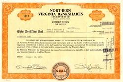 Northern Virginia Bankshares, Inc. - Virginia 1972