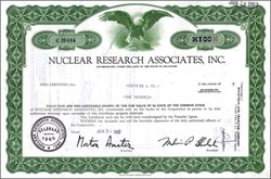 Nuclear Research Associates, Inc.