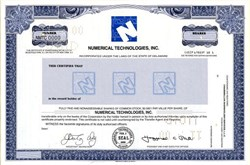 Numerical Technologies, Inc. - Delaware